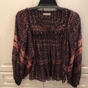 Ulla Johnson stunning silk blouse